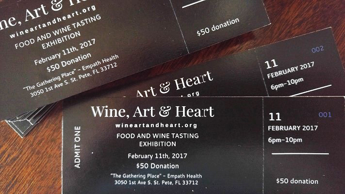 Wine, Art & Heart @ Suncoast Hospice | Empath Health Service Center | Saint Petersburg | Florida | United States