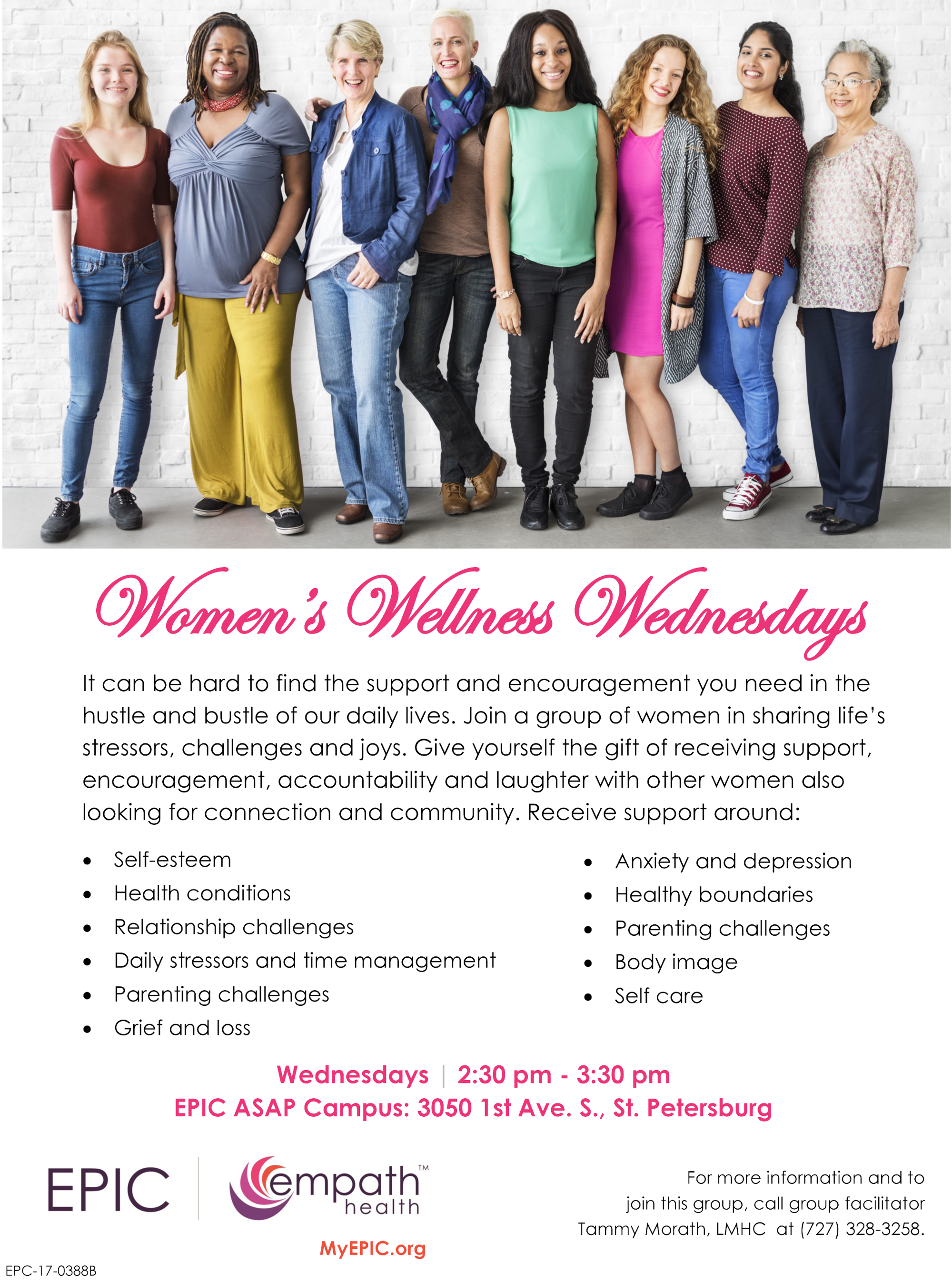 Women's Wellness Wednesdays @ EPIC ASAP Campus