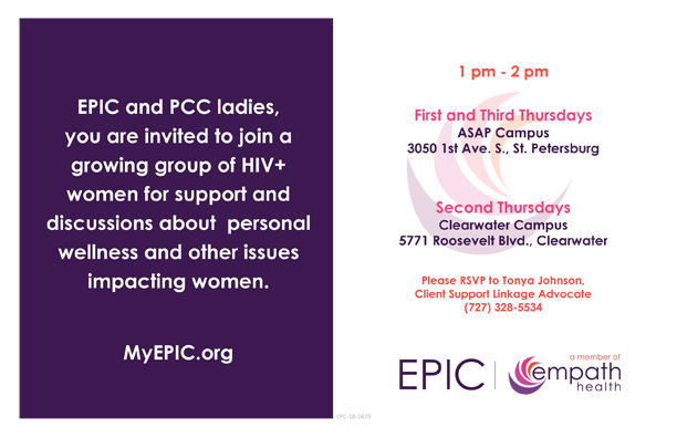 EPIC Women's Group @ EPIC Clearwater Campus | Clearwater | Florida | United States
