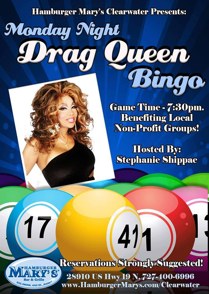 Drag Queen Bingo Benefiting EPIC @ Hamburger Mary's