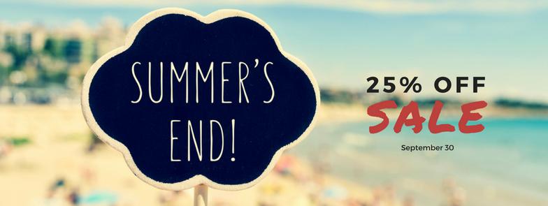 Resale Shoppes End Of Summer 25% Off Sale