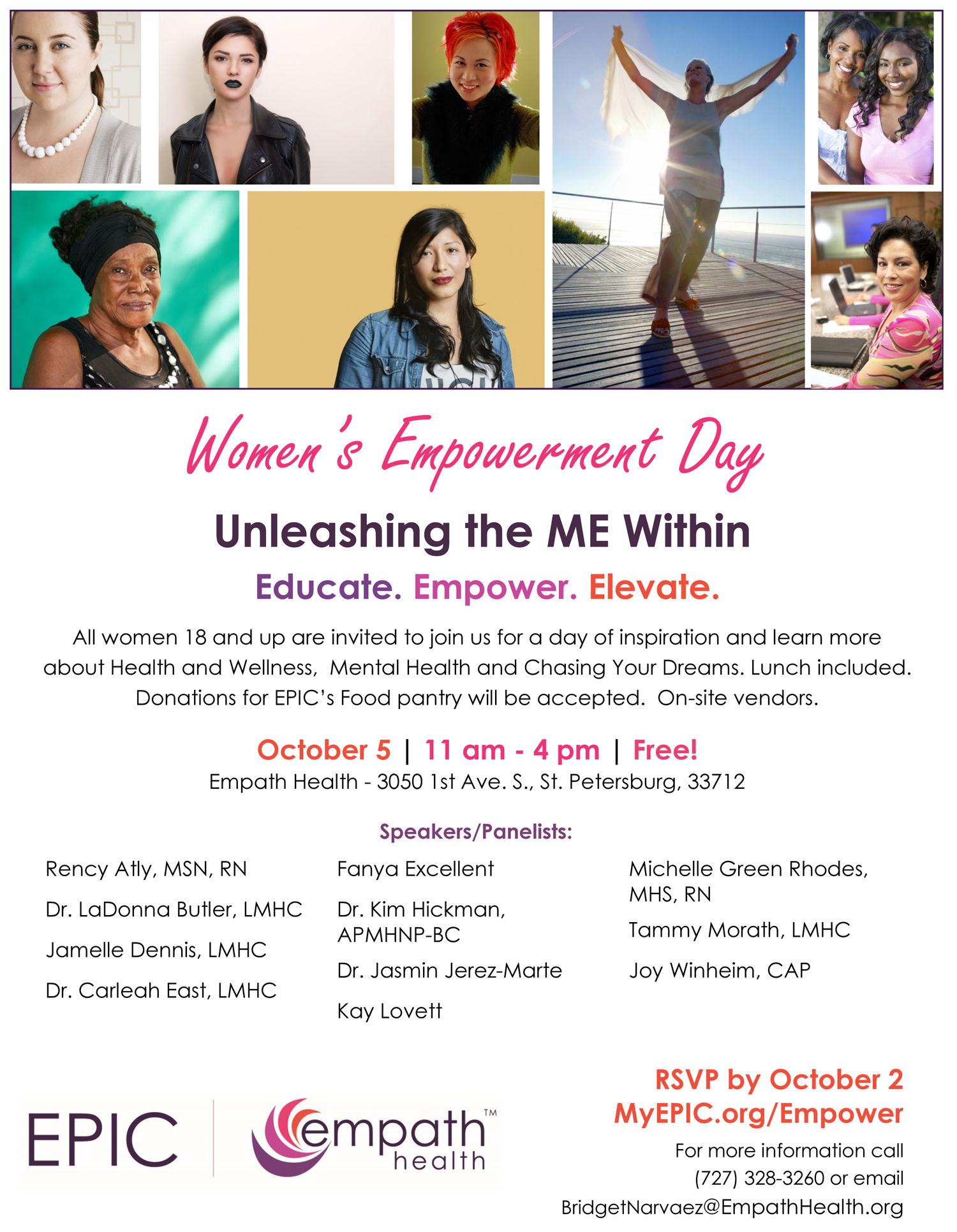 Women's Empowerment Day @ EPIC ASAP Campus at Empath Health