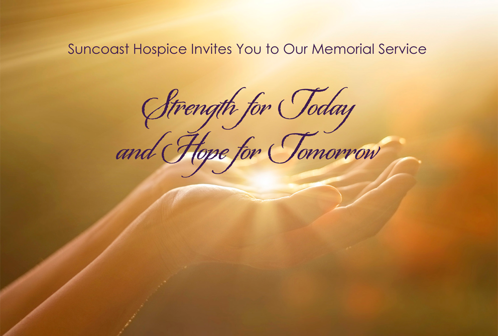 Community Memorial Service: Strength for Today & Hope for Tomorrow