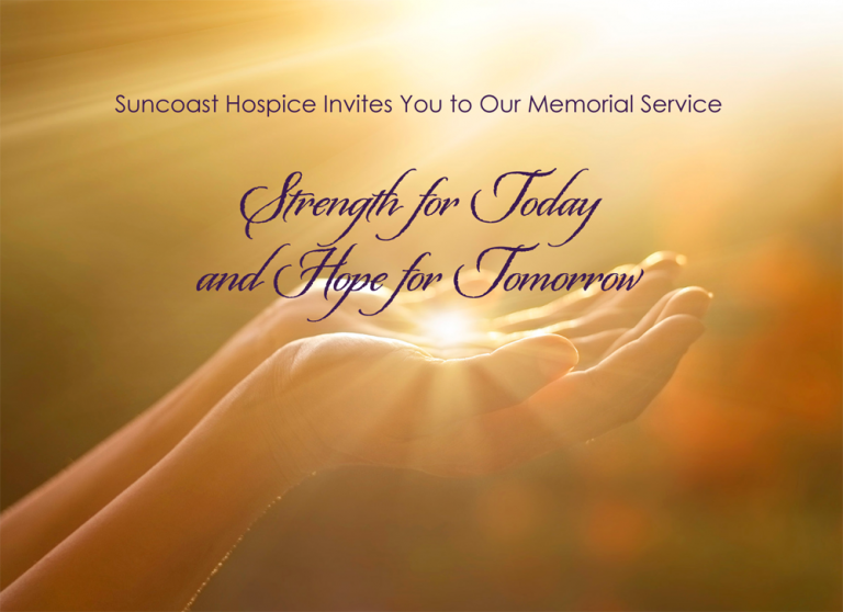 Community Memorial Service: Strength for Today & Hope for Tomorrow @ Unity of Palm Harbor