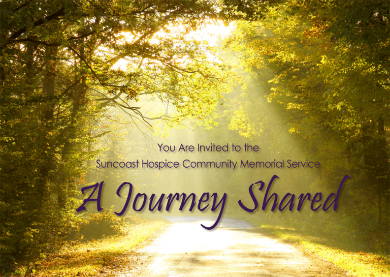Community Memorial Service- A Journey Shared @ Mease Manor - Auditorium | Dunedin | Florida | United States