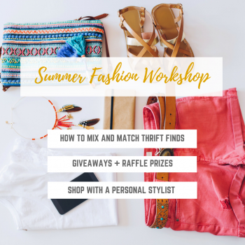 Summer Fashion For Less Workshop @ Suncoast Hospice Resale Shops Countryside  | Clearwater | Florida | United States