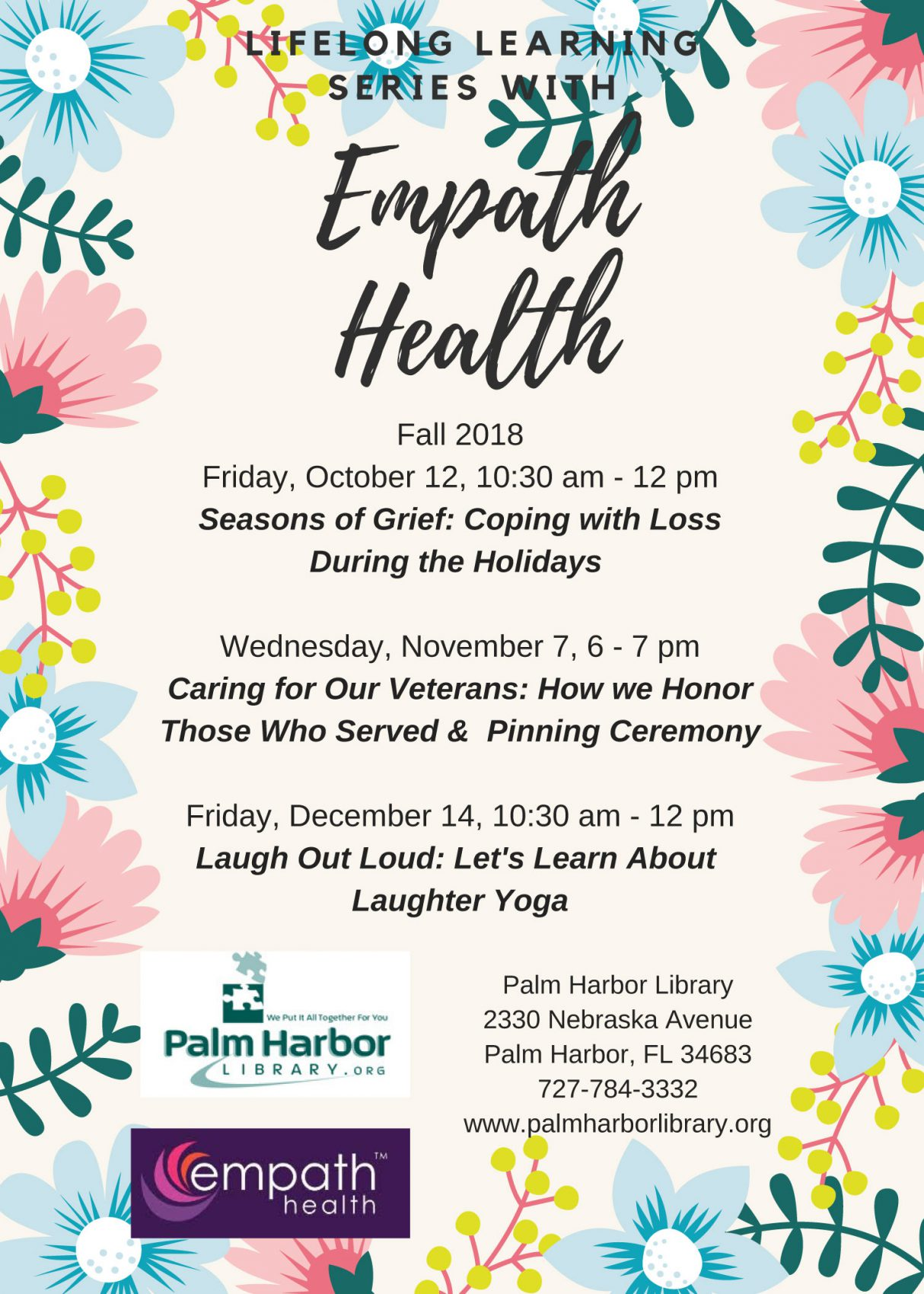 LOL: Let's Learn About Laughter Yoga @ Palm Harbor Library | Palm Harbor | Florida | United States