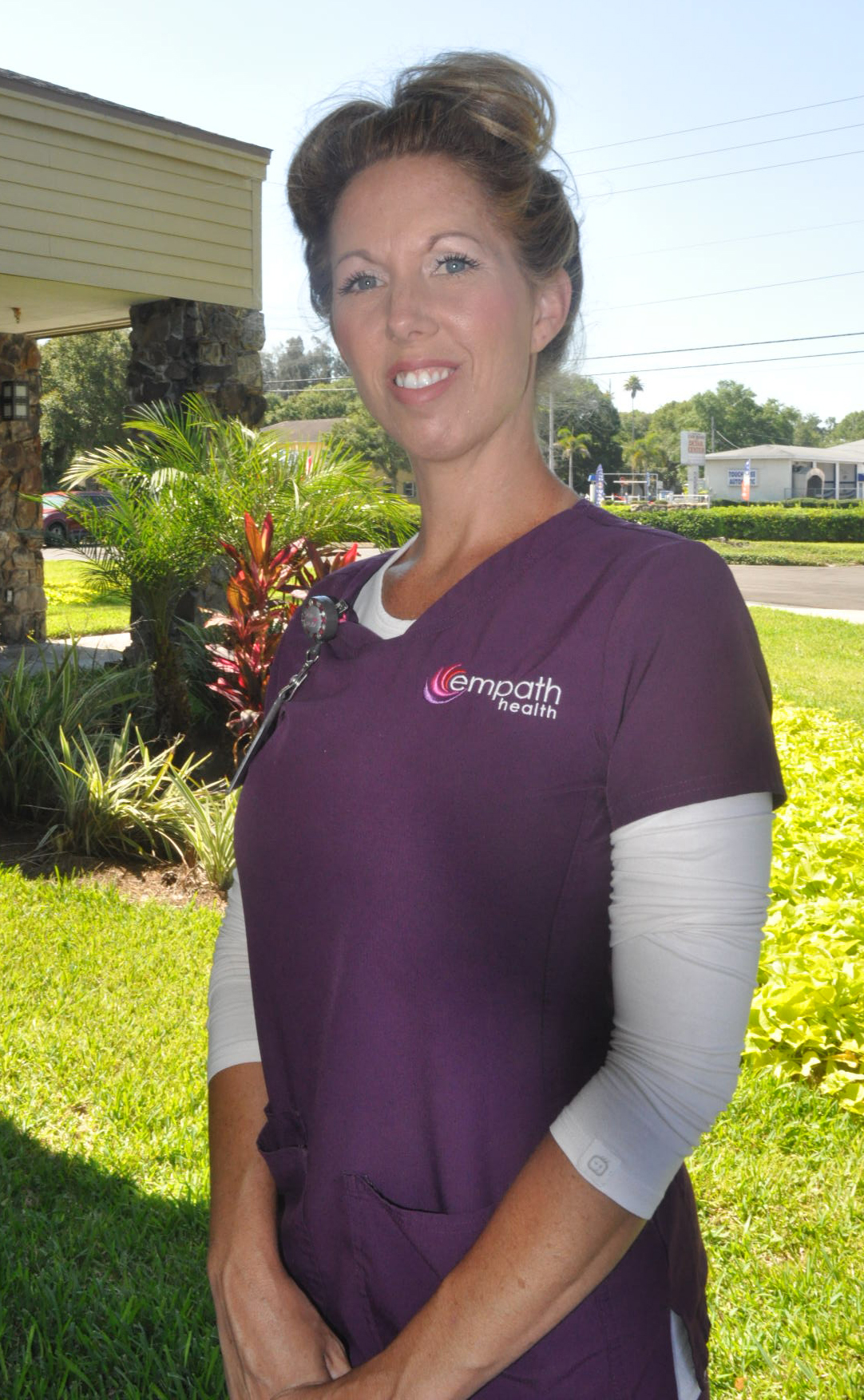 Suncoast Hospice Certified Nursing Assistant Aide Jennifer Fountain