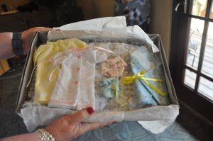 Sewing Volunteers Stillborn Baby Clothing