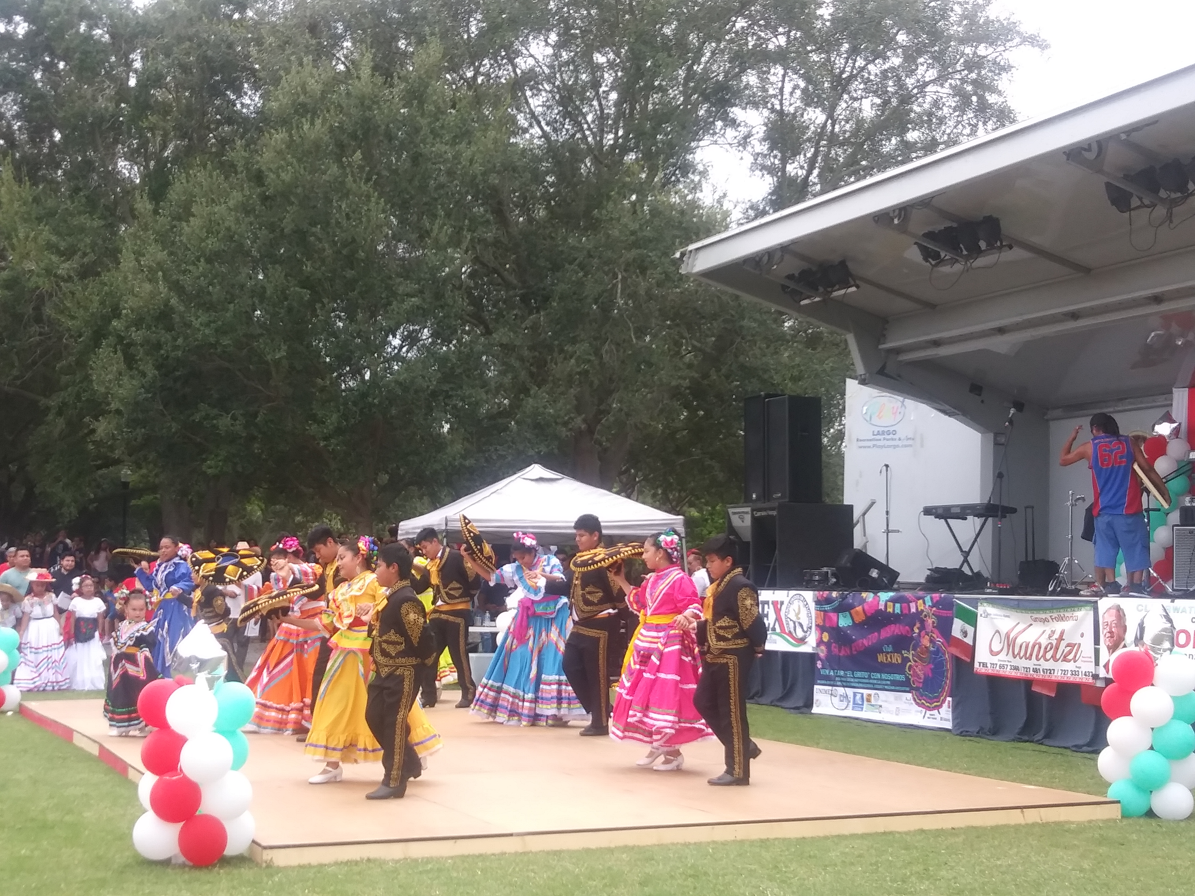 Hispanic Heritage Month Community Outreach Event and Dancers